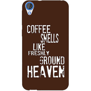 EYP Coffee Quote Back Cover Case For HTC Desire 820Q 291221