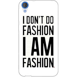 EYP Fashion Quote Back Cover Case For HTC Desire 820 281428
