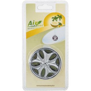 Tyre shape green air freshner