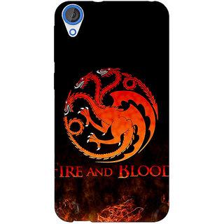 EYP Game Of Thrones GOT House Targaryen  Back Cover Case For HTC Desire 820Q 290142