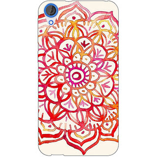 EYP Flower Floral Pattern Back Cover Case For HTC Desire 820Q 290204