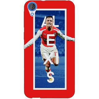EYP Arsenal Alexis Sanchez Back Cover Case For HTC Desire 820 Dual Sim 300506
