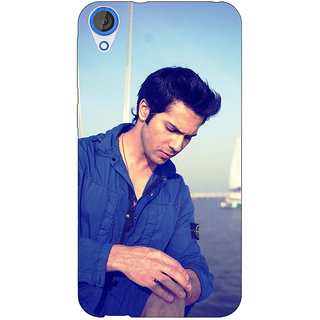 EYP Bollywood Superstar Varun Dhawan Back Cover Case For HTC Desire 820 Dual Sim 300951