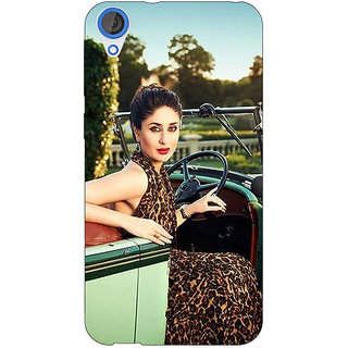 EYP Bollywood Superstar Kareena Kapoor Back Cover Case For HTC Desire 820Q 291054