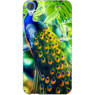 EYP Paisley Beautiful Peacock Back Cover Case For HTC Desire 820Q 291578