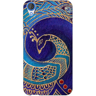 EYP Paisley Beautiful Peacock Back Cover Case For HTC Desire 820Q 291589