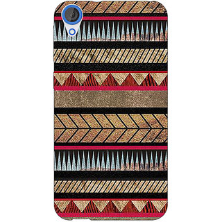 EYP Aztec Girly Tribal Back Cover Case For HTC Desire 820 Dual Sim 300056