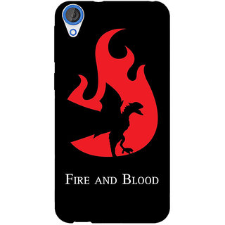 EYP Game Of Thrones GOT House Targaryen  Back Cover Case For HTC Desire 820 Dual Sim 300143
