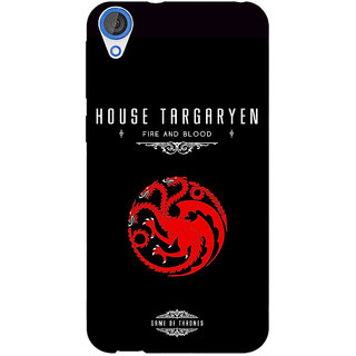 EYP Game Of Thrones GOT House Targaryen  Back Cover Case For HTC Desire 820 Dual Sim 300144