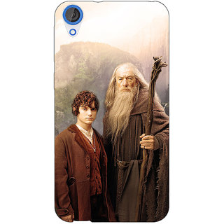 EYP LOTR Hobbit Gandalf Frodo Back Cover Case For HTC Desire 820 Dual Sim 300357