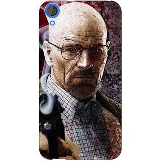 EYP Breaking Bad Heisenberg Back Cover Case For HTC Desire 820 Dual Sim 300418