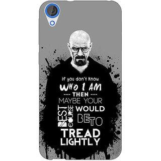 EYP Breaking Bad Heisenberg Back Cover Case For HTC Desire 820 Dual Sim 300427