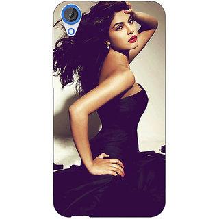 EYP Bollywood Superstar Priyanka Chopra Back Cover Case For HTC Desire 820 Dual Sim 300970