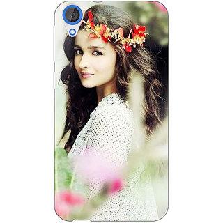 EYP Bollywood Superstar Alia Bhatt Back Cover Case For HTC Desire 820 Dual Sim 301028
