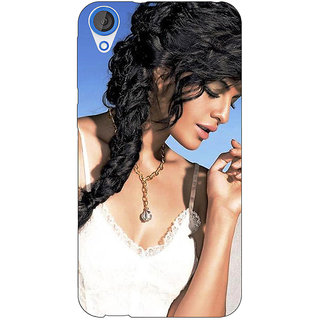 EYP Bollywood Superstar Jacqueline Fernandez Back Cover Case For HTC Desire 820 Dual Sim 301052