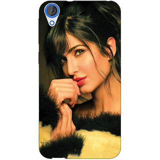 EYP Bollywood Superstar Katrina Kaif Back Cover Case For HTC Desire 820 Dual Sim 301056