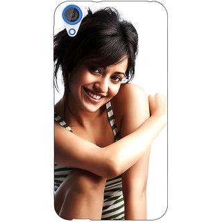 EYP Bollywood Superstar Neha Sharma Back Cover Case For HTC Desire 820 Dual Sim 301058