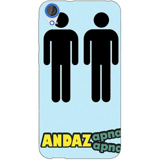 EYP Bollywood Superstar Andaz Apna Apna Back Cover Case For HTC Desire 820 Dual Sim 301080