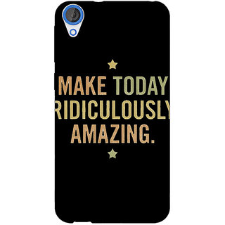 EYP Quotes Beautiful Back Cover Case For HTC Desire 820 Dual Sim 301192