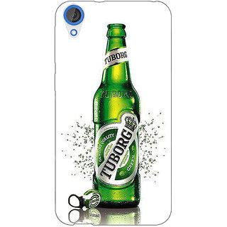 EYP Tuborg Beer Back Cover Case For HTC Desire 820 Dual Sim 301244