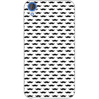 EYP Moustache Back Cover Case For HTC Desire 820Q 291448