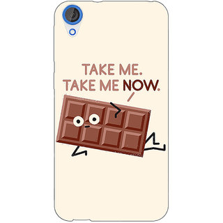 EYP Chocolate Quote Back Cover Case For HTC Desire 820Q 291451