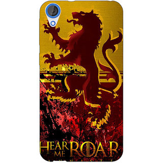 EYP Game Of Thrones GOT House Lannister Back Cover Case For HTC Desire 820 Dual Sim 301540