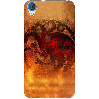 EYP Game Of Thrones GOT House Targaryen Back Cover Case For HTC Desire 820 Dual Sim 301550