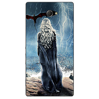 EYP Game Of Thrones GOT House Targaryen  Back Cover Case For Sony Xperia M2 310147