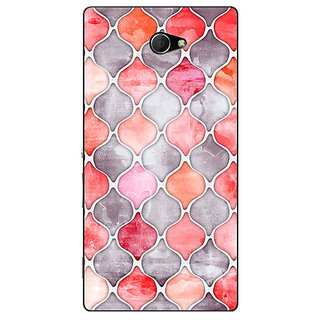 EYP Morrocan Pattern Back Cover Case For Sony Xperia M2 310224