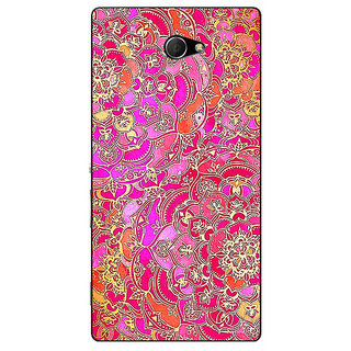 EYP Hot Floral  Pattern Back Cover Case For Sony Xperia M2 310241