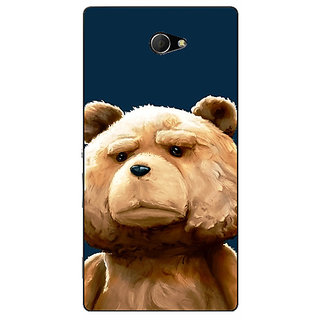 EYP TED Teddy Back Cover Case For Sony Xperia M2 310491