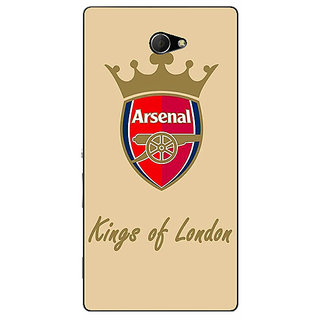 EYP Arsenal Back Cover Case For Sony Xperia M2 310503