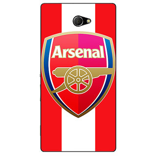 EYP Arsenal Back Cover Case For Sony Xperia M2 310509