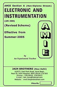 AMIE - Section-A (Non-Diploma Stream)  Electronic And Instrumentation (AN-208)
