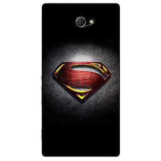 EYP Superheroes Superman Back Cover Case For Sony Xperia M2 310037
