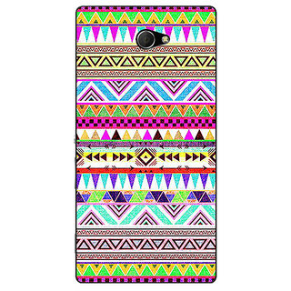 EYP Aztec Girly Tribal Back Cover Case For Sony Xperia M2 310051