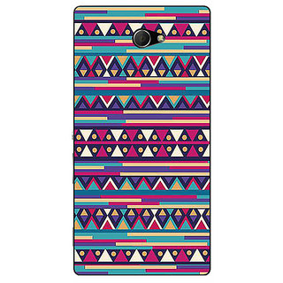 EYP Aztec Girly Tribal Back Cover Case For Sony Xperia M2 310063
