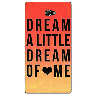 EYP Dream Love Back Cover Case For Sony Xperia M2 310093
