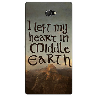 EYP LOTR Hobbit  Back Cover Case For Sony Xperia M2 310377
