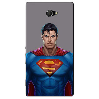 EYP Superheroes Superman Back Cover Case For Sony Xperia M2 310382