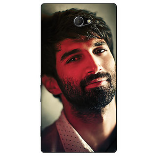 EYP Bollywood Superstar Aditya Roy Kapoor Back Cover Case For Sony Xperia M2 310925