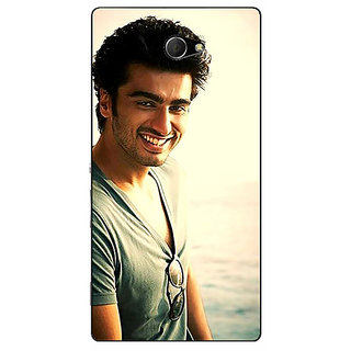 EYP Bollywood Superstar Arjun Kapoor Back Cover Case For Sony Xperia M2 310938