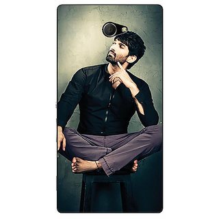 EYP Bollywood Superstar Aditya Roy Kapoor Back Cover Case For Sony Xperia M2 310940