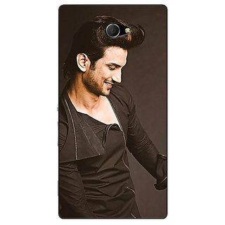 EYP Bollywood Superstar Sushant Singh Rajput Back Cover Case For Sony Xperia M2 310949