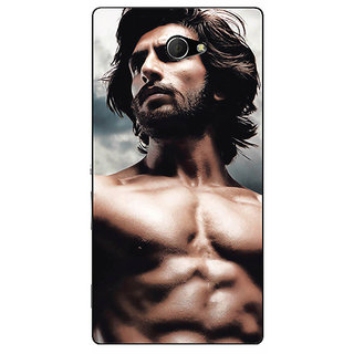 EYP Bollywood Superstar Ranveer Singh Back Cover Case For Sony Xperia M2 310950