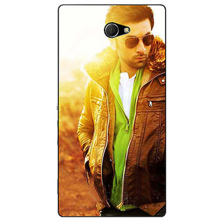 EYP Bollywood Superstar Ranbir Kapoor Back Cover Case For Sony Xperia M2 310956