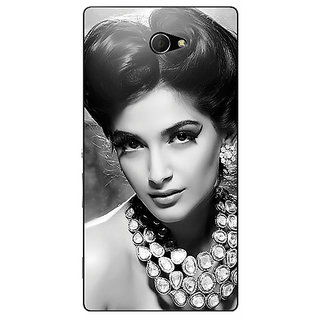 EYP Bollywood Superstar Sonam Kapoor Back Cover Case For Sony Xperia M2 310971
