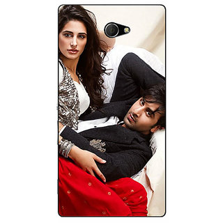 EYP Bollywood Superstar Nargis Fakhri Ranbir Kapoor Back Cover Case For Sony Xperia M2 310973