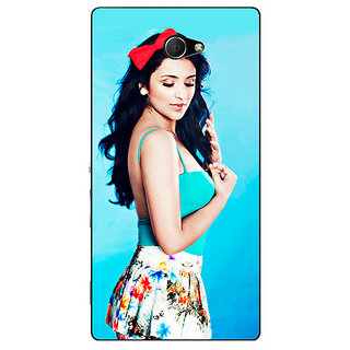EYP Bollywood Superstar Parineeti Chopra Back Cover Case For Sony Xperia M2 310977